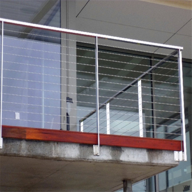 Stainless steel cable railing/wire balustrade