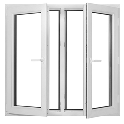 New French design hot sale swing casement with high quality aluminium door-A