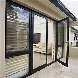 High Quality Latest Aluminum Swing door with thermal break aluminum profile-A