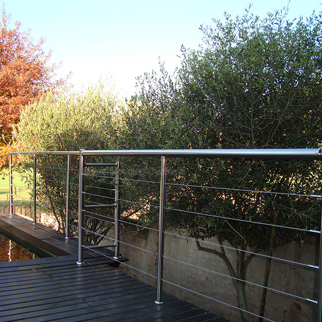 S-Factory Supply Decking Stainless Steel Balustrade Cable Railing
